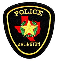 ARLINGTON TEXAS TX Police Sheriff Patch STATE SHAPE OUTLINE LONE STAR STATE SEAL