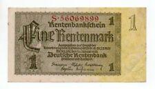 Germany 1 Rentenmark 1937