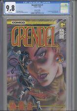 Grendel #v2 #1 CGC 9.8 1986 Comico 1st Christine Spar: Rare 2nd Print!