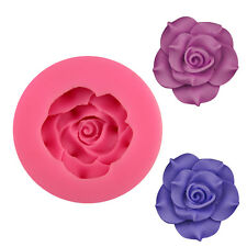 New DIY Rose Soap Mould Candle Mold Creative Handmade Silicone Baking Mold