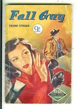 FALL GUY by Struan, British Tit Bits Crime Library slim digest pulp vintage pb