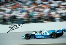 "F1 Jacques VILLENEUVE Signed 12 x 8"" Photo (A4) TEAM GREEN Indy Car WORLD Series"