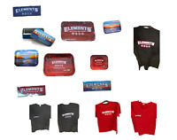 Elements Red Cloud Metal Rolling Tray / Tin Case / Magnets / T-Shirts