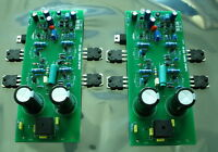One Pair Assembled CLONE Musical Fidelity X-A50 Mono Amplifier Board  100W+100W