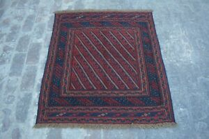 Stunning Afghan tribal mushwani kilim rug / 100% wool traditional rug and kilim