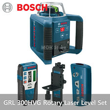BOSCH GRL-300HVG Professional Rotary Laser Level Set LR1G RC1 WM4