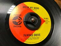 "Private Label Garage Psych 45 Pawnee Drive ""Ride / Break My Mind"" EX SEE & HEAR!"
