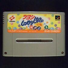TSUYOSHI SHIKKARI SHINASAI PUZZLE DAMA Nintendo Super Famicom NTSC JAPAN・❀・SFC