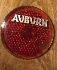 1934 - 1936 Auburn Original Script Tail Light Lens