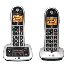 BT 4600 Twin Digital Big Button Cordless Answer Phone with Advanced Call Blocker