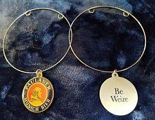 "Paulaner Munich Bier BEER Bottle medallion Charm Bracelet ""Be Weize"""