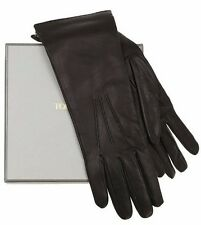 NEW TOM FORD LUXURY LADIES BLACK EXTRA SOFT LEATHER WRIST LONG GLOVES 8