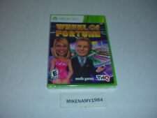 New WHEEL OF FORTUNE game for Microsoft XBOX 360 - FACTORY SEALED !!