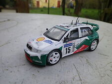SOLIDO SKODA FABIA WRC RALLYE CORSE 2003 comme neuf, sans boite