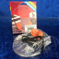 ►INTERNATIONAL STEREO HEADPHONE F633G◄MINI CUFFIE VINTAGE STEREO SPINA 3,5mm
