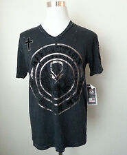 AFFLICTION men's graphic t-shirt size M new with tag