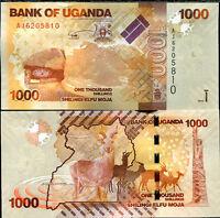 UGANDA 1000 1,000 SHILLINGS 2010 P 49 UNC