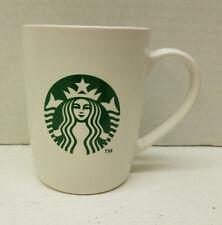 2011 Starbucks Siren Coffee Cup Mug White Green Mermaid Logo