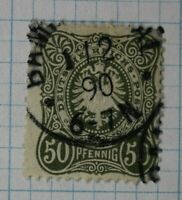 Germany sc#35 used 50pf