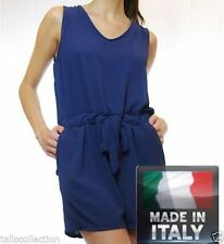 Polyester Unbranded Solid Jumpsuits, Rompers & Playsuits for Women