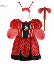 NEW Fancy Dress Costume Girl Age 4-5 years Ladybird Children World book day  UK