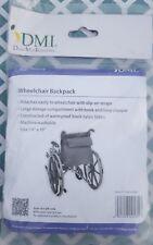 "DMI-Duro-Med Industries Black Nylon 14"" X 19"" Wheelchair Backpack"
