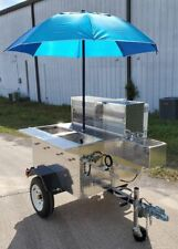 New Ready to Go 2020 Deluxe Jr 3.3' x 5' Street Food Vending Cart for Sale in Fl