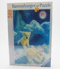 Ravensburger Polar Bear Cub, Jigsaw Puzzle, 500-pc, 145621, New & Sealed, VTG