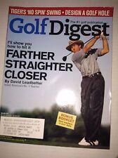 Golf Digest Magazine David Leadbetter Farther Straighter August 2000 031217NONRH