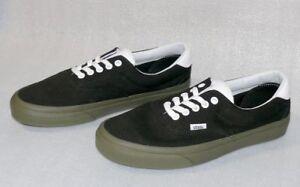 Vans ERA 59 Canvas Herren Schuhe Freizeit Sneaker Gr 42 US9 CL047 Schwarz Gum