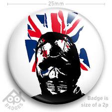 "The Sex Pistols SEDITIONARIES Vivienne Westwood GIMP MASK - NEW 25mm 1"" Badge"