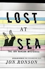 LOST AT SEA, BY JON RONSON (HARDCOVER) NEW, FREE POST WITH ONLINE TRACKING