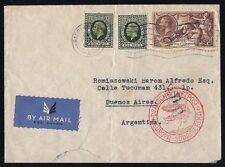 UNITED KINGDOM 1937 - ENGLAND - AIRMAIL COVER TO ARGENTINA