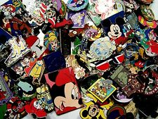 DISNEY PINS 100 pin MIXED LOT FASTEST SHIPPER IN USA No Duplicates Great Value