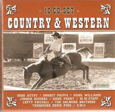 Country & Western - 10 CD box set-Gene Autry, Hank Williams & Beaucoup Plus