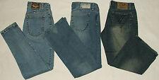 """3 Womens Express 30""""w Converse 33""""w Blue Jeans Vercsde Capri 31""""w x 24""""l"""
