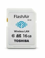 WIFI Wireless SD Memory Card Toshiba Flashair II 16GB W02 SDHC Class 10 NEW