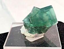 Fine Gem Clear Green Fluorite Crystals - The Rogerly Mine, Durham, England