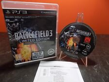Battlefield 3 Limited Edition Sony Playstation 3 PS3 PAL T030