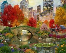 Springbok's 500 Piece Jigsaw Puzzle Central Park Paradise
