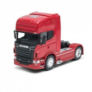 WELLY1:32 CAMION SCANIA V8 R730 4X2 ROUGE