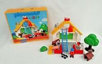 Playmobil 6804 1 2 3 Farm Barn Playset Vintage 1999 Toy Bricks Blocks