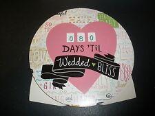 Hallmark Days Til Wedded Bliss Countdown calendar