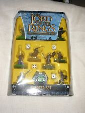 2003 Sabertooth Games Lord of the Rings Combat Hex Miniature Game Starter Set