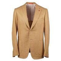 Isaia Slim-Fit 'Cortina' Golden Soft Woven Wool-Cashmere Sport Coat 38R (Eu 48)