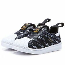 Adidas B75615 toddler Superstar 360 I baby shoes kids BLACK/WHITE