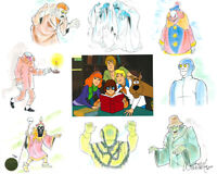 Scooby Doo Pack Attack Limited Edition cel of 50 Signed by Willie Ito