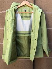 Giacca Galery Company Vintage Windbreaker Raincoat Hooded Jacket Small 6-Button