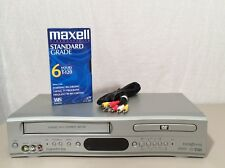 Broksonic Duo DVD/VCR Model DVCR-810 Series A Hi-Fi Stereo 4-Head FREE MOVIE