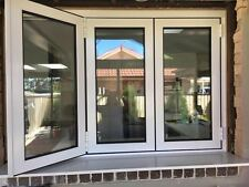 BIFOLD WINDOW | ALUMINIUM - DOUBLE GLAZED - 1200h x 2410w